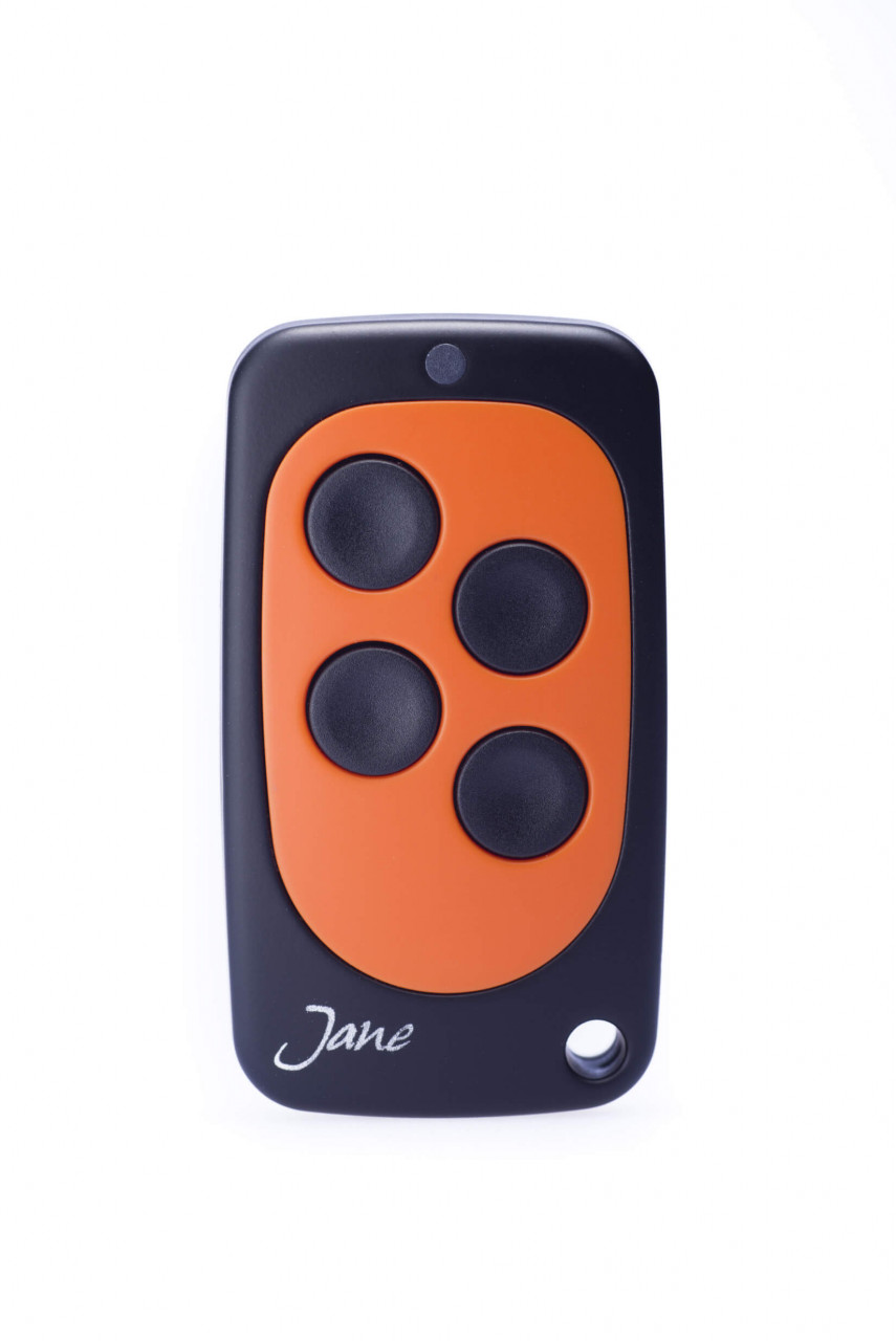Schartec TOP01 Orange Universal Handsender 433 MHz - 868 MHz Festcode, Rollingcode und Keeloq