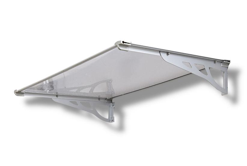 Schartec Aluminium-Vordach MAX A-L silber