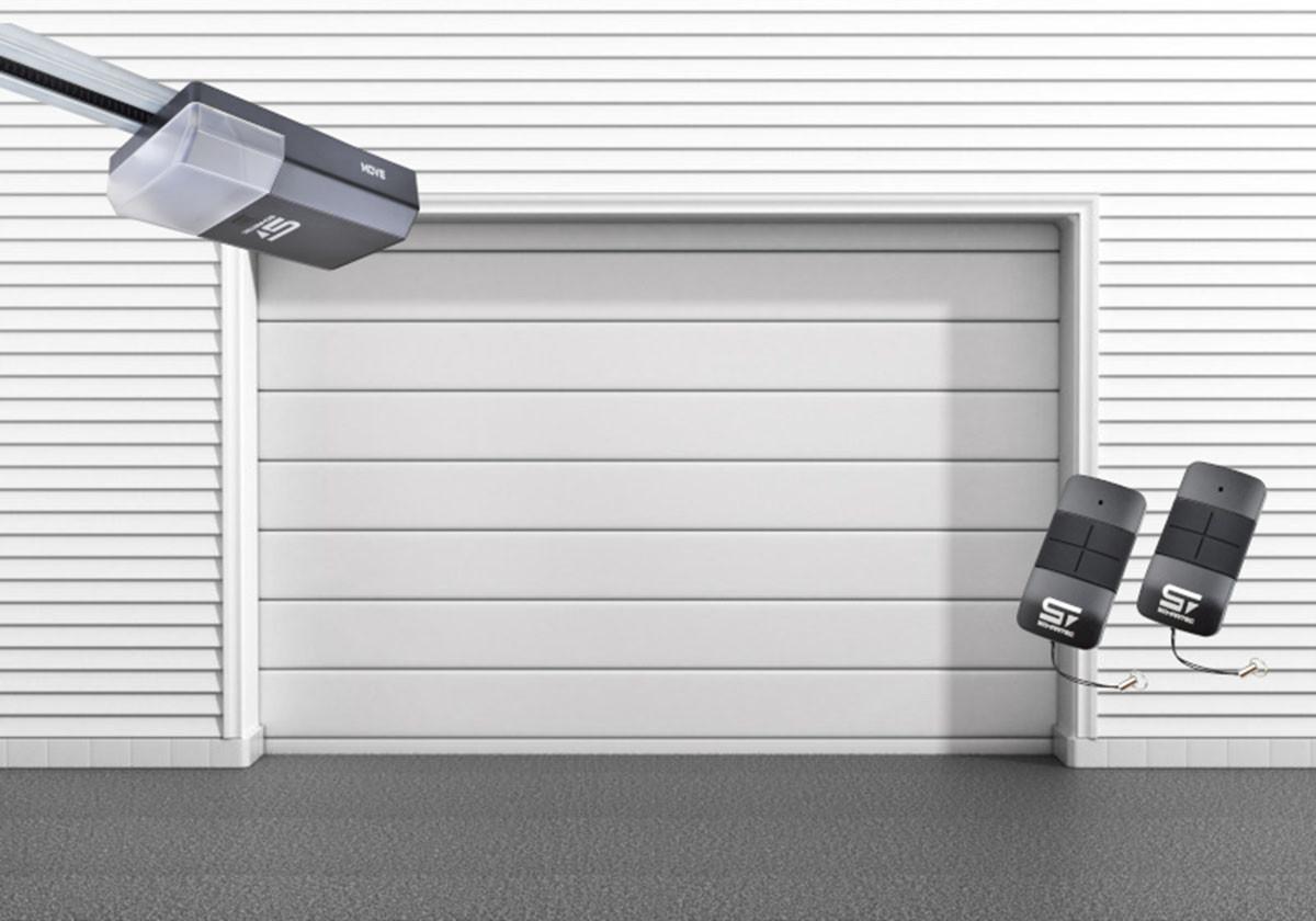 Garagentor Schartec Thermolux 40 M-Sicke in weiß 2500 x 2125 mit Antrieb