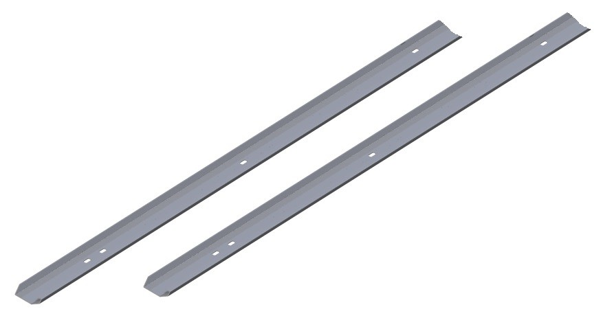Laufschiene vertikal 2125 mm für Schartec Sektionaltor
