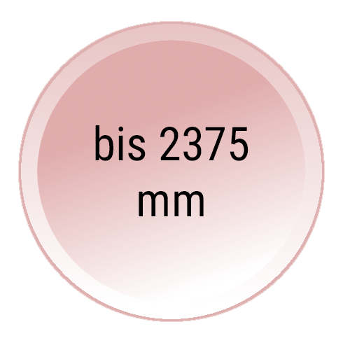 Sektionaltor 5000 mm Breit und 2375 mm Hoch