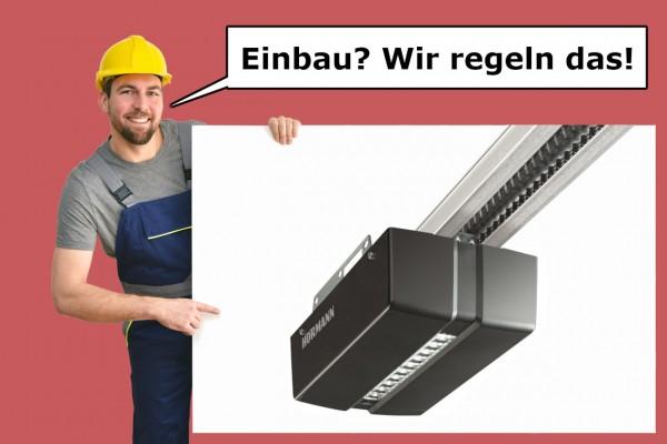 Hörmann Garagentorantrieb ProMatic 4 mit K-Schiene inkl. Vermittlung Montage-Service