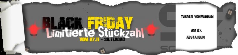Sparen Sie bei unserer diesjährigen Black Friday-Aktion beim Kauf von ausgewählten Schartec Artikeln!