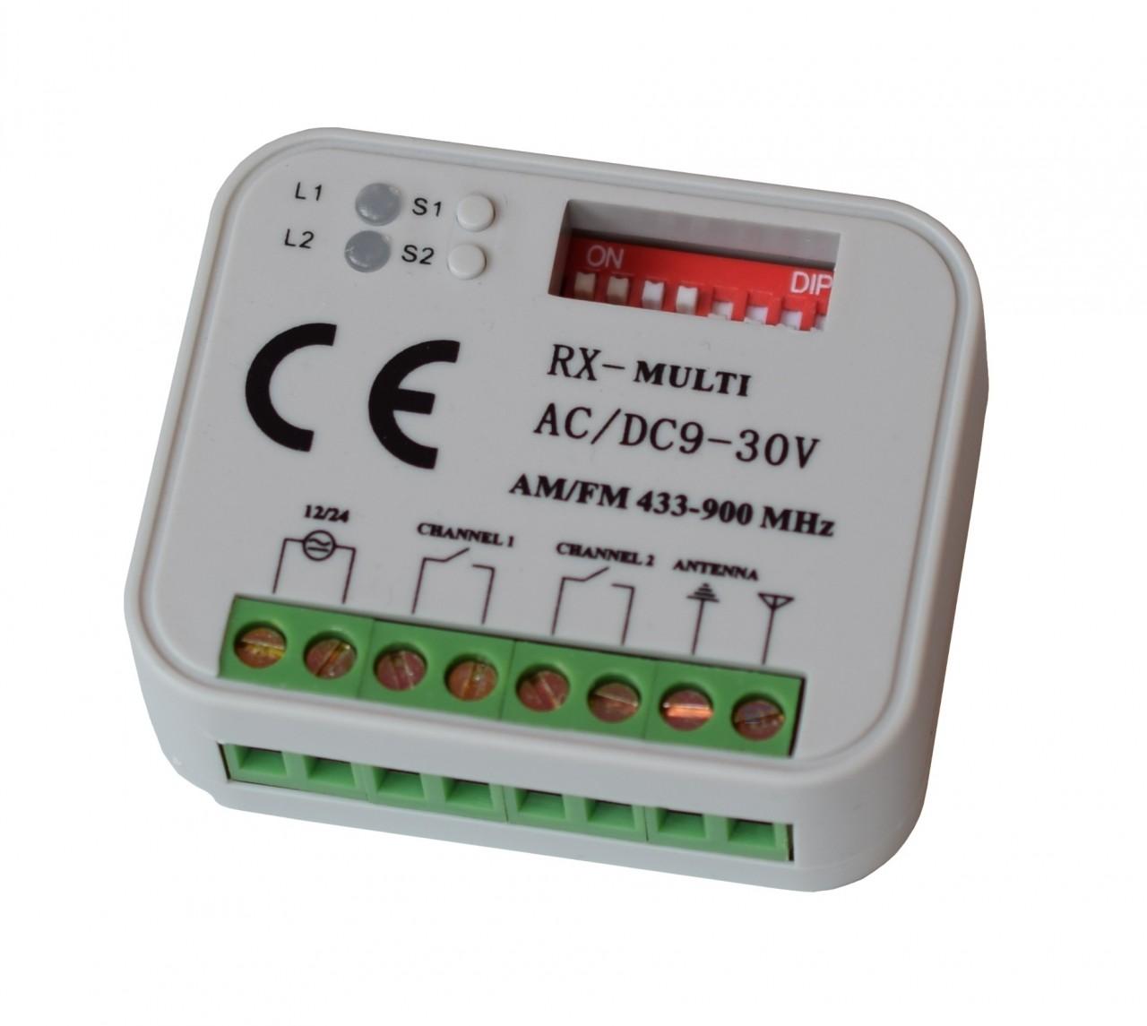 Schartec RX-Multi Funkempfänger 433 - 868 MHz