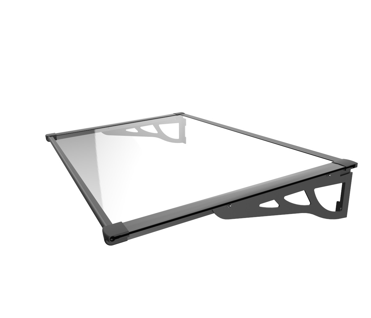 Schartec Aluminium Canopy MAX A-L black