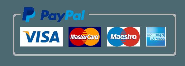 Kreditkarte via Paypal