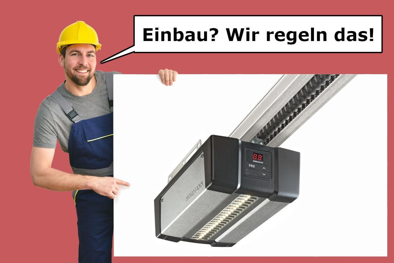 Hörmann Garagentorantrieb SupraMatic E 4 mit K-Schiene inkl. Vermittlung Montage-Service