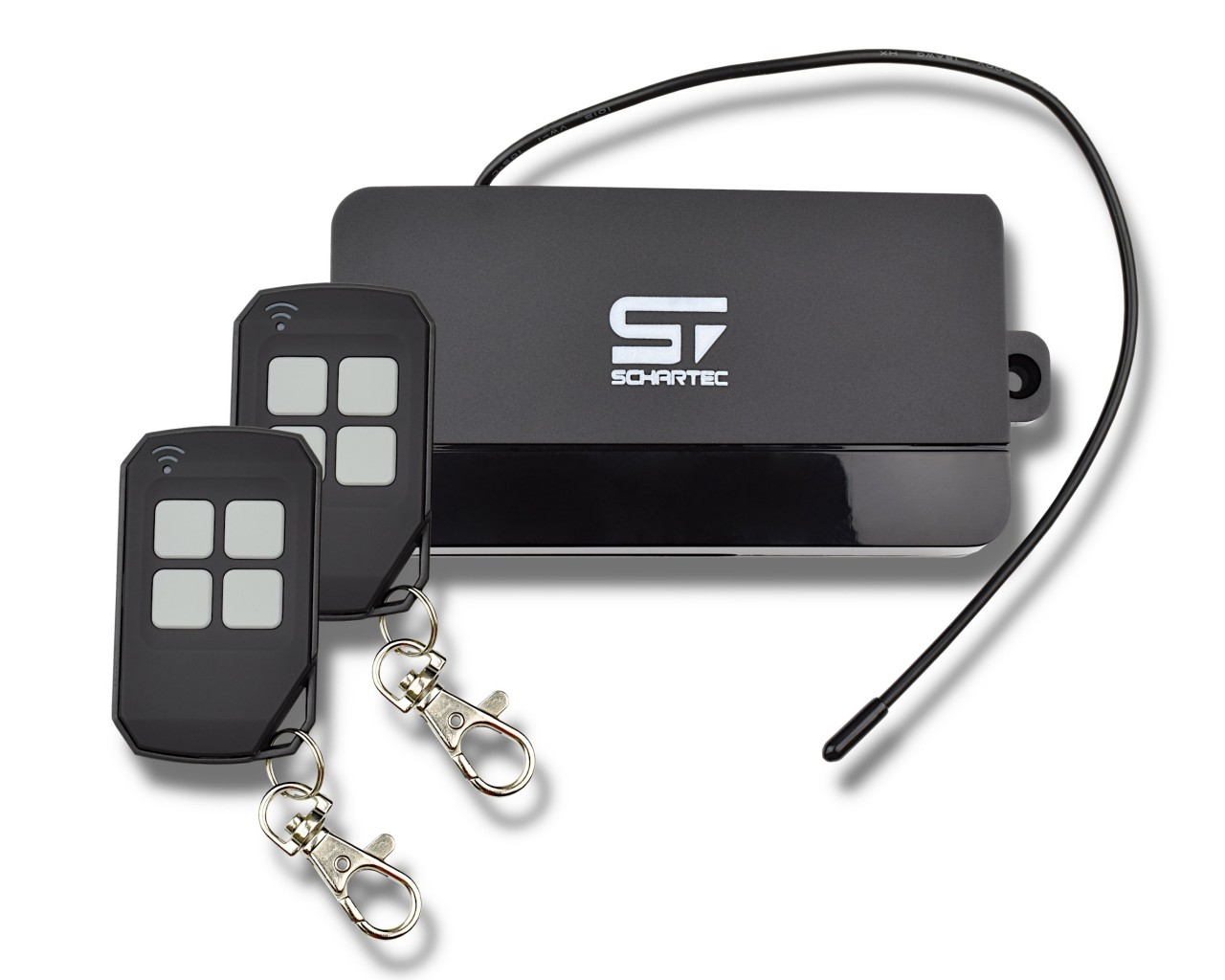 Schartec Universal Funkempfänger Set YET402PC-S17 inkl. 2 Handsender