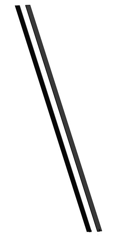 Zargendichtung 2000 mm für Schartec Sektionaltor
